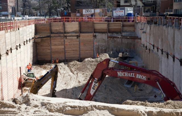 Excavation Wrapping Up And Crane Coming To ZIGG Condos In