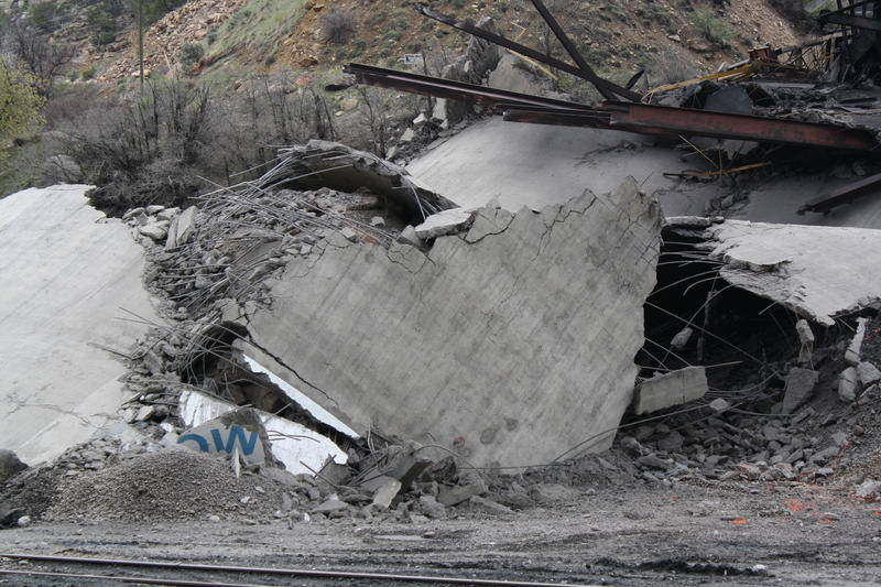 Demolition Marks End of Elk Creek Mine