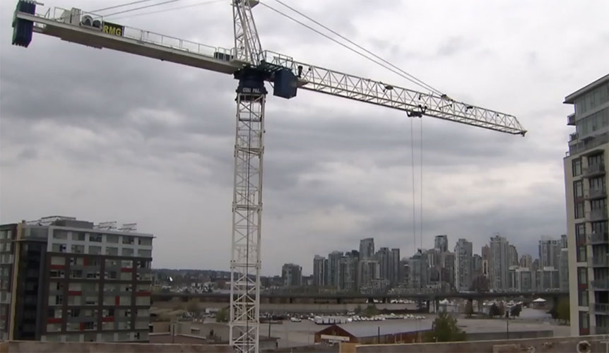 Building boom has tower crane industry nearing capacity, searching for operators