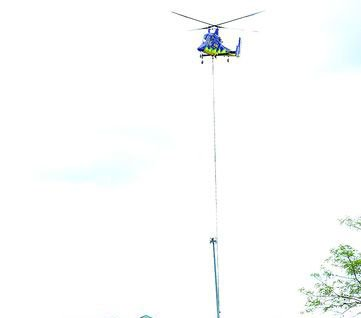 Helicopter Lift slashes West Virginia project time from 4 weeks to 5
