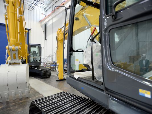 Take a video tour of the new $41M Kobelco excavator plant in S C