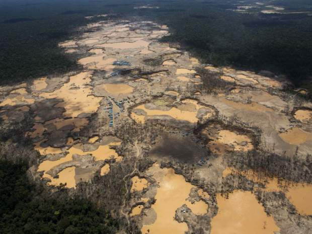 Peru declares emergency in Amazon where illegal gold mining is poisoning jungle tribes