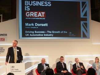 Mark Dorsett, speaking at the 2014 UK Trade Investment seminar
