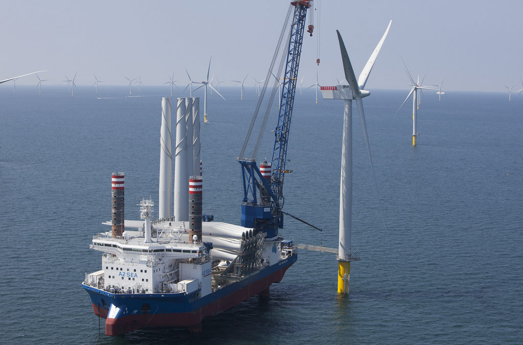 A2SEA's signs contract to deploy offshore installation vessel SEA INSTALLER to erect 49 wind turbines off the coast of Denmark