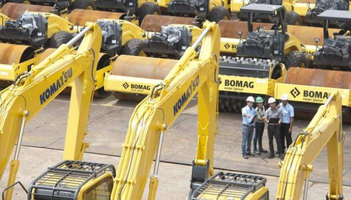 Indonesia's United Tractors sees lower Komatsu sales, bigger construction portion