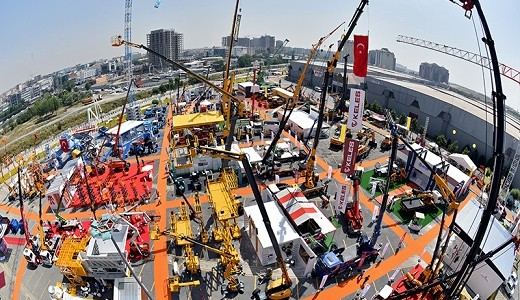 Liebherr Earthmoving equipment, deep-foundation machines and mobile cranes at the 2016 Ankomak Exhibition