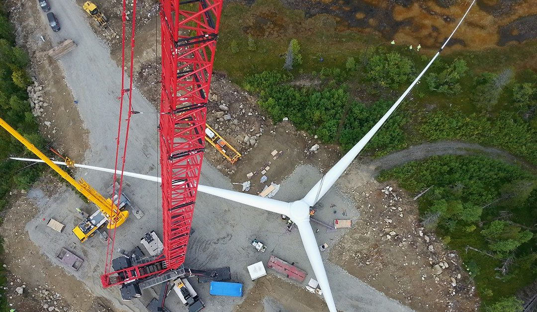 Mammoet Wind optimizes wind farm installation in Sweden, saving time and money.