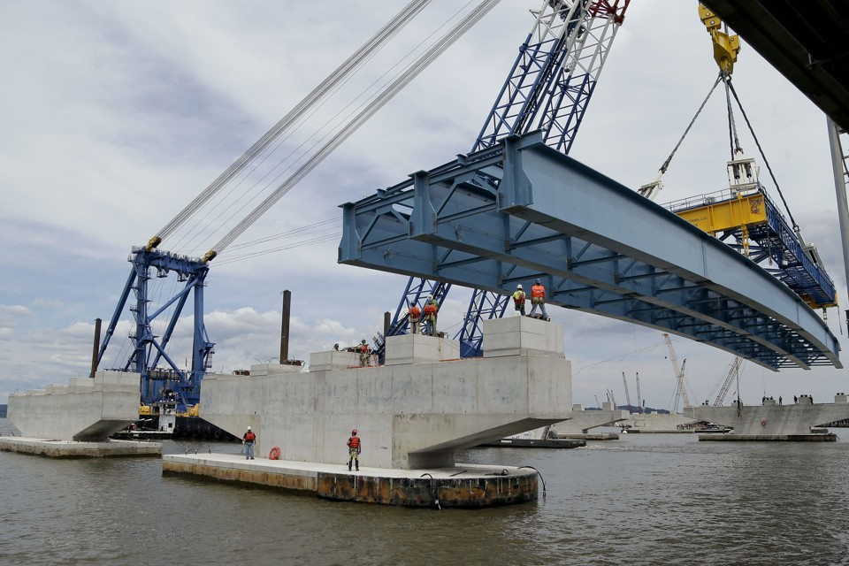 Terry Towle Sr. VP at Fluor discusses the $4 Billion 3.1 mile Tappan Zee bridge fabrication project