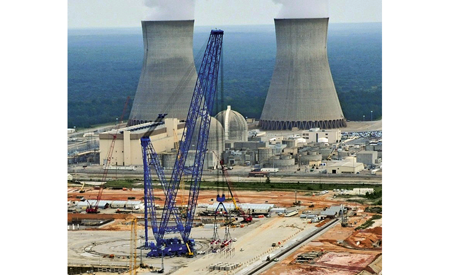 Bigge superheavy- lift crane, the AFRD, is the world largest capacity, landbased, rotating crane and the only machine capable of making every super lift on a twin-unit nuclear powerplant site from a single location.