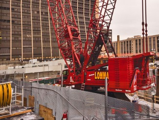 Lomma Crane & Rigging's Manitowoc 18000 crawler crane would be affected by the new regulations