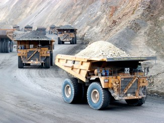 Newmont is selling its stake in PT Newmont Nusa Tenggara, the operator of the open pit Batu Hijau copper and gold mine in Indonesia. PHOTO: PT NEWMONT NUSA TENGGARA/AGENCE FRANCE-PRESSE/GETTY IMAGES