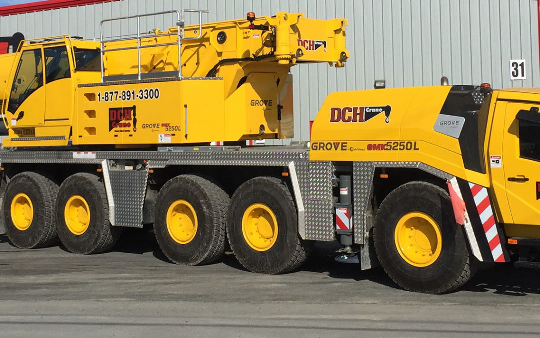DCH Crane Adds Grove GMK5250L All Terrain crane to Its Fleet