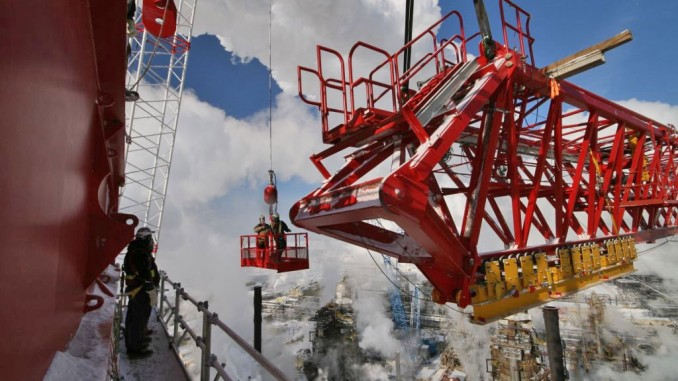 Mobile Crane Apprentice Jobs Canada : The kroll k one of world largest tower cranes