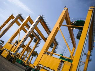 The new equipment for Konecranes will help Charleston handle larger ships and volumes.