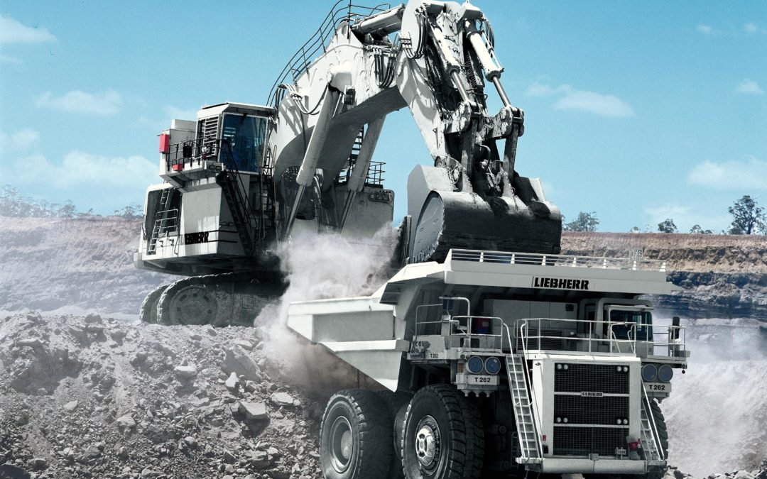 Liebherr exhibiting at the MINExpo and unvailing their new 100 ton mining truck