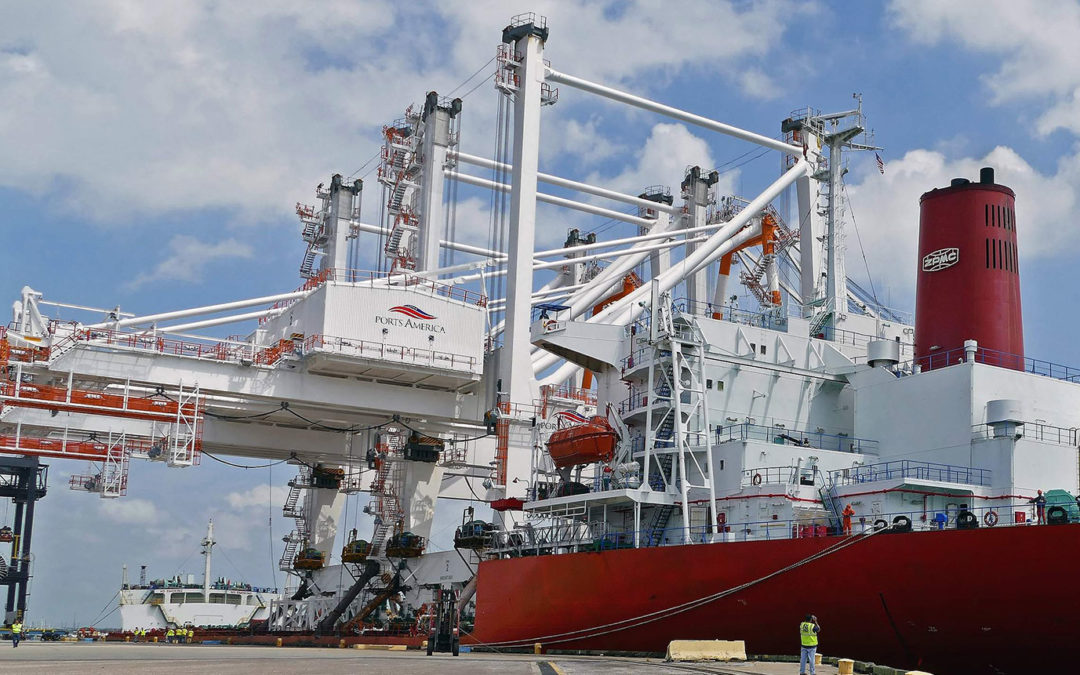 Watch what it is like to operate one of the new 300-foot tall $24M ZPMC cranes at Port Tampa Bay