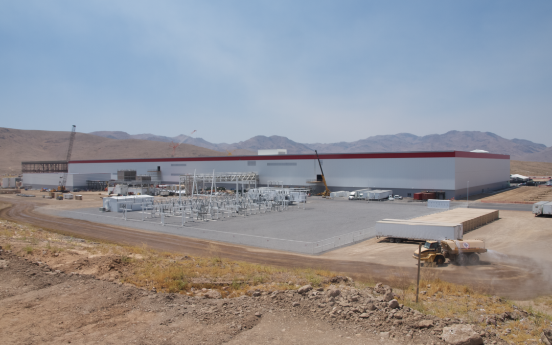 Inside The Tesla Gigafactory, The Biggest Factory In The World