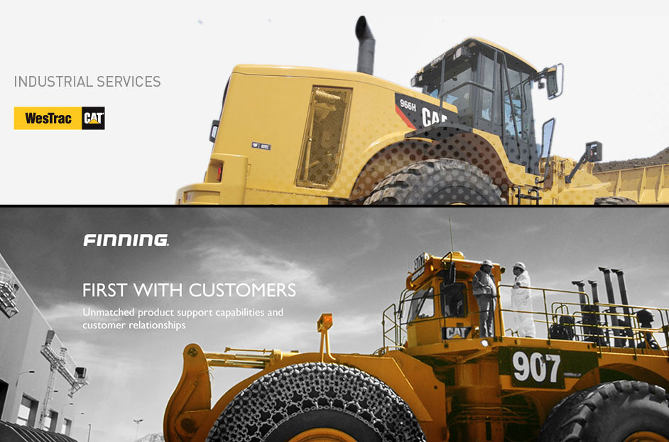 Here is what the largest Caterpillar Dealers Finning & WestTrac say about the Heavy Equipment Market