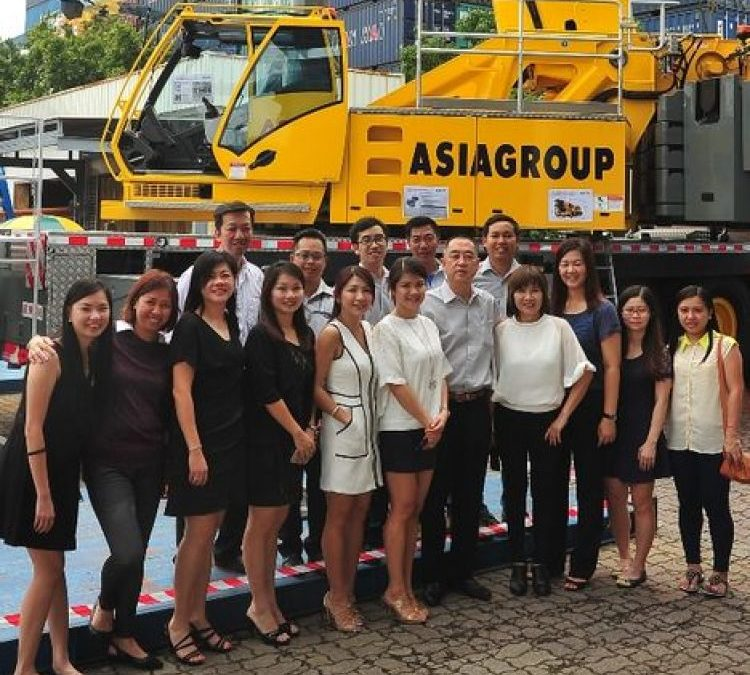 Singapore's Asiagroup gets region's first Grove GMK5250L AT crane