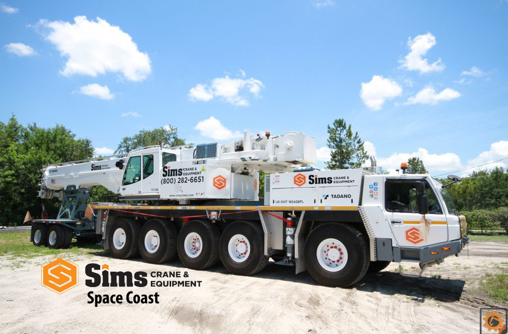 Sims Crane & Equipment Opens 12th Branch in Florida to service the Space Coast Area
