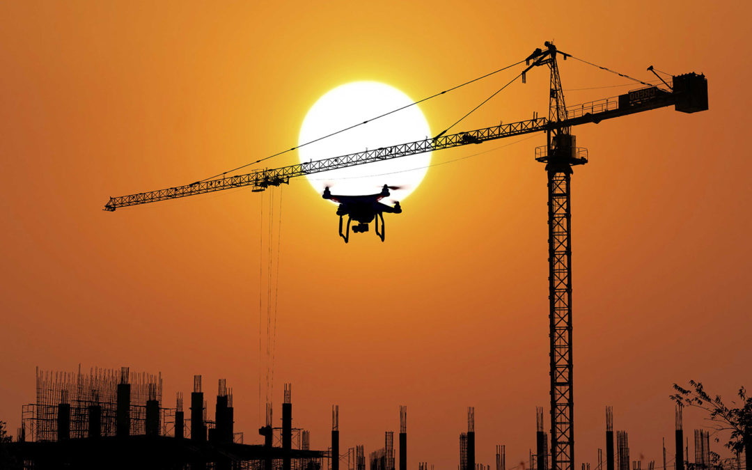 Drones Leading Construction Industry Into the 21st Century