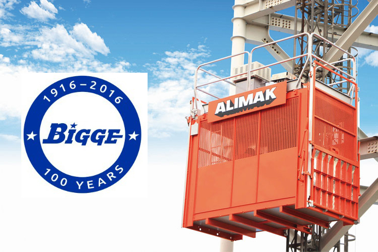 Alimak Group Divests the US Rental Operation to Bigge Crane and Rigging