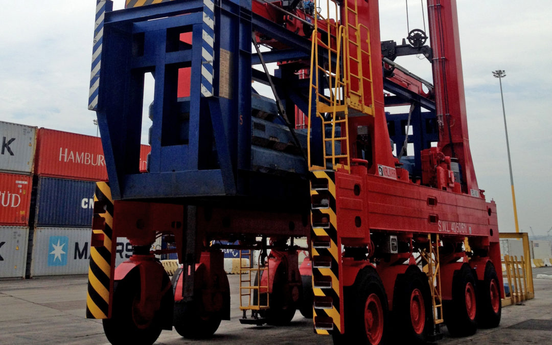 Kalmar receives large order for 23 straddle carriers from Transnet in South Africa