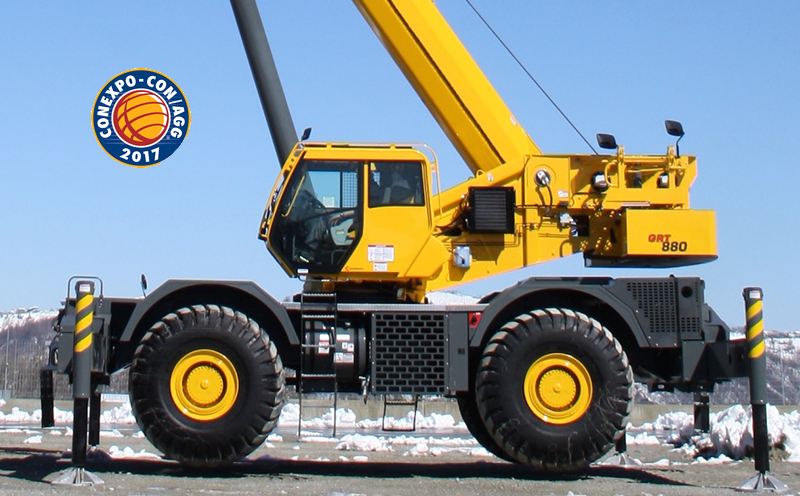 Grove GRT880 to be shown for first time in North America at