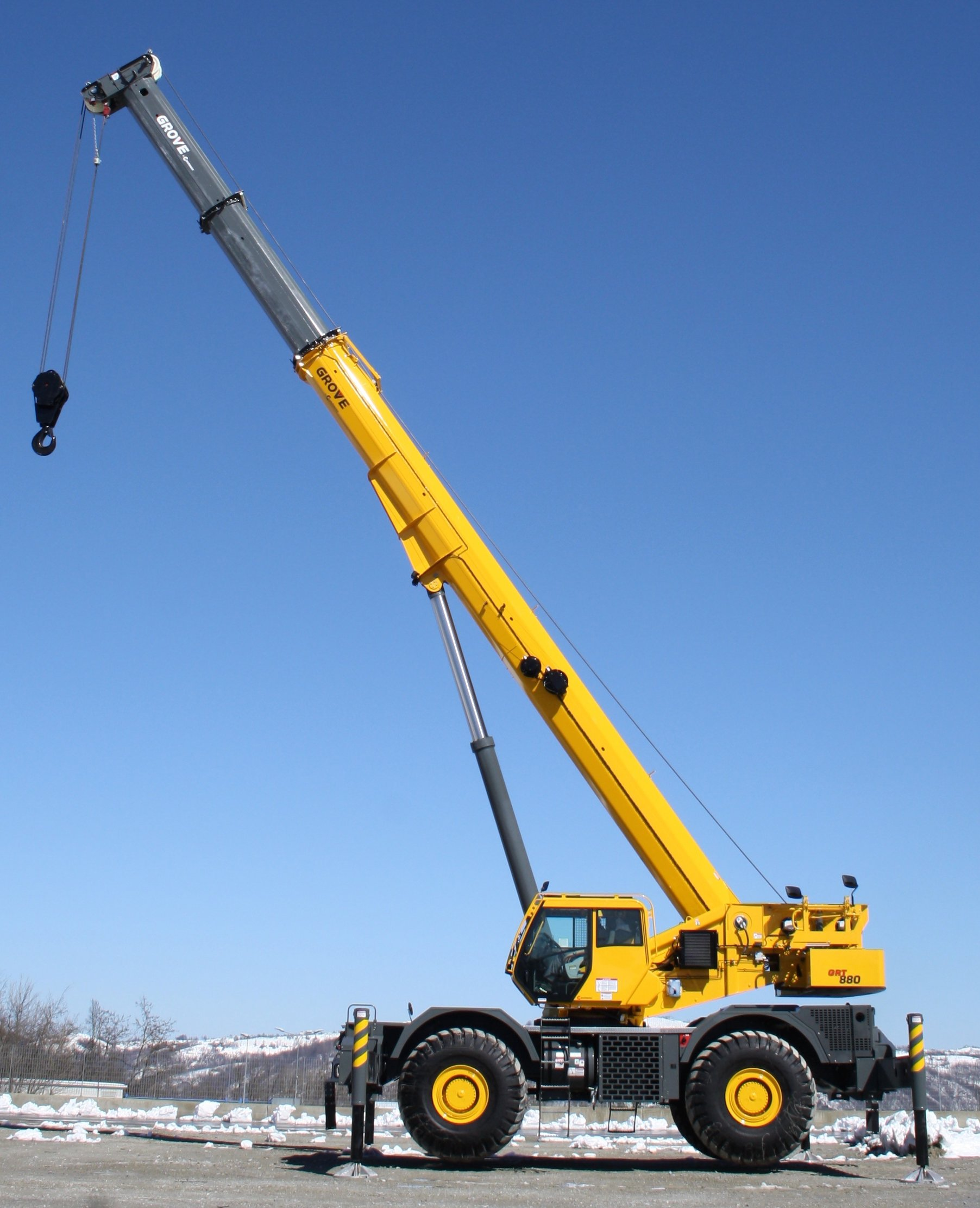 Grove Grt880 To Be Shown For First Time In North America