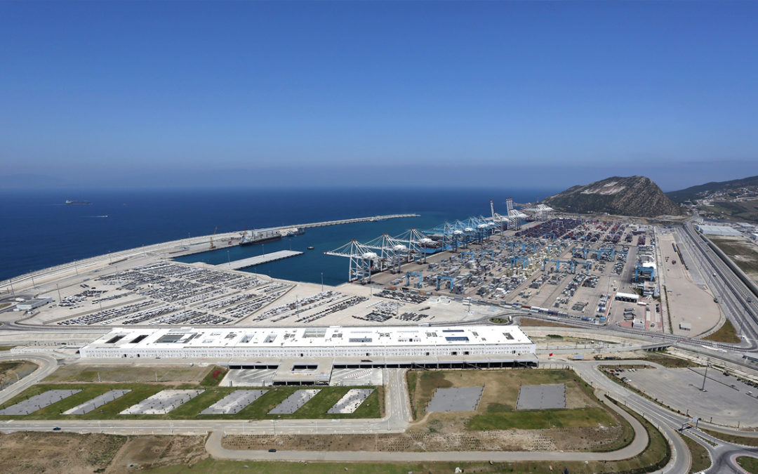 Tanger Med in Morocco to be biggest port in Africa with addition of 4th terminal and 44 new cranes