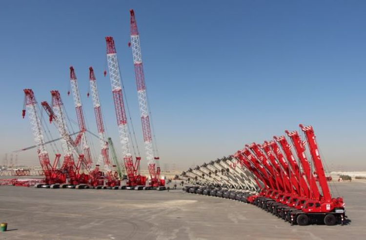 Intergrated Logistics adds huge package of new Terex Cranes