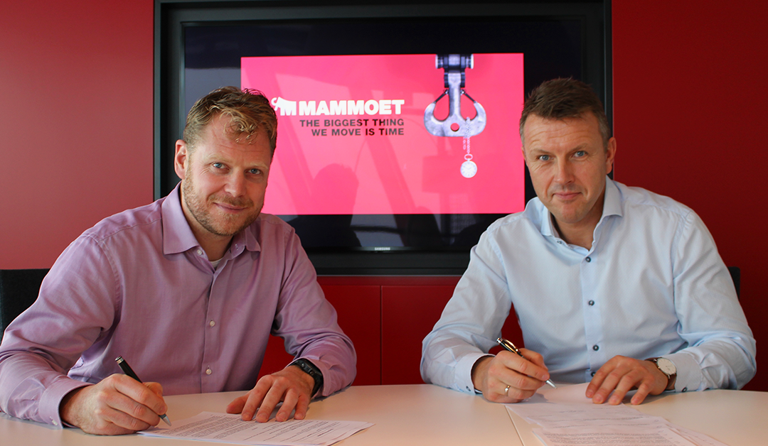 Mammoet and Lutelandet Offshore establish partnership to expand business in Norway