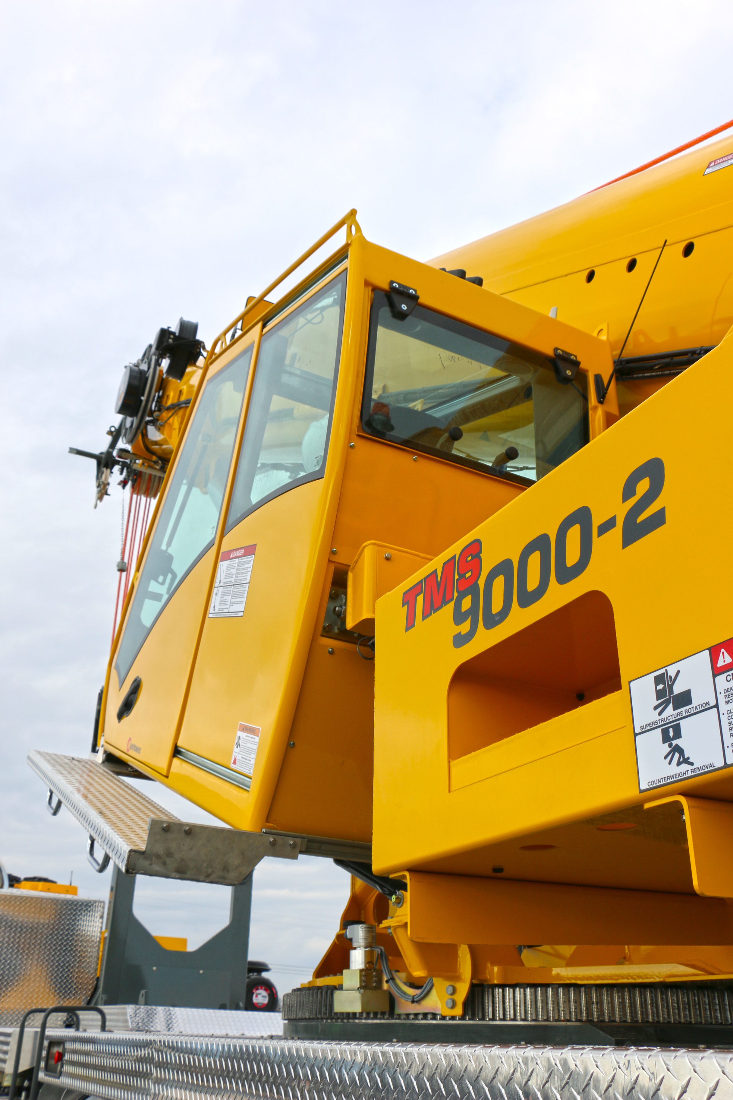 Lighter, longer, stronger. This was the mantra as Grove developed the TMS9000-2, its next-generation truck crane, which has just been unveiled.