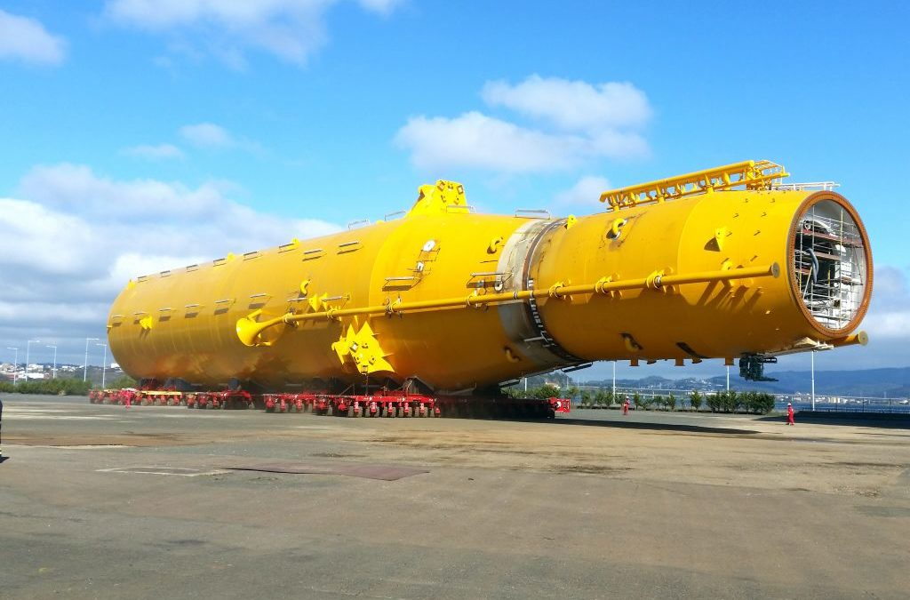 ALE Heavy Lift starts Hywind Project transportations in Spain