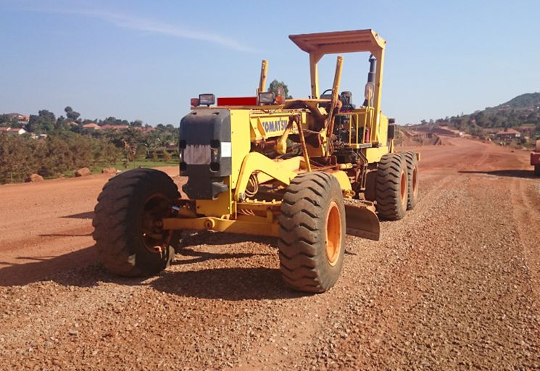Komatsu Receives Order from Government of Uganda for 401 Motor Graders, Wheel Loaders and Other Equipment for Road Construction