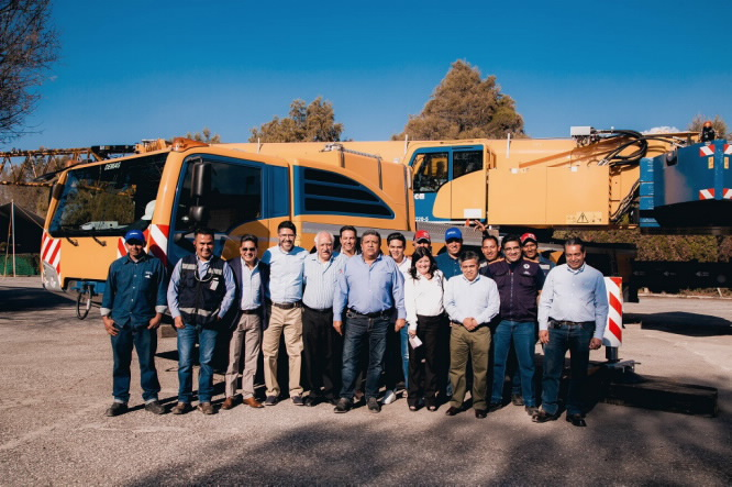 New Demag AC 220-5 All Terrain Cranes goes to Mexico City based crane and logistics company GSL