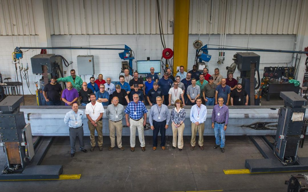 Link-Belt Cranes Produces 10,000th Formed Boom to be installed on TCC-1400 crane