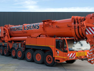 Pictured is Michielsens 700-ton Demag AC 700-9 already in service.