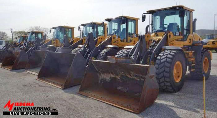 McAllister Equipment to Auction New and Recent Volvo and