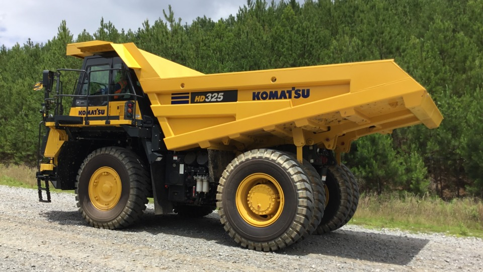 Komatsu America Corp. introduces new HD325-8 and HD405-8 off-highway trucks