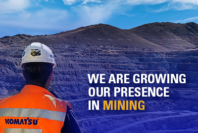 Komatsu renames Joy Global to Komatsu Mining Corp. after $3.7 billion acquisition