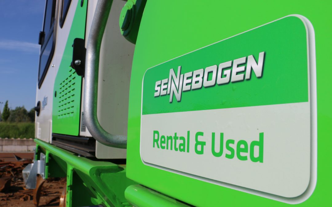 Sennebogen has launched a rent used machines from the Sennebogen product portfolio.
