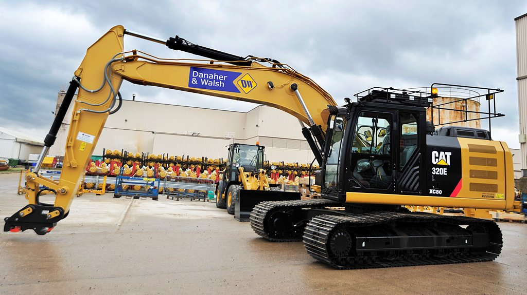 Danaher & Walsh Plant Hire has completed a £3m investment in new machinery from CAT and Volvo CE