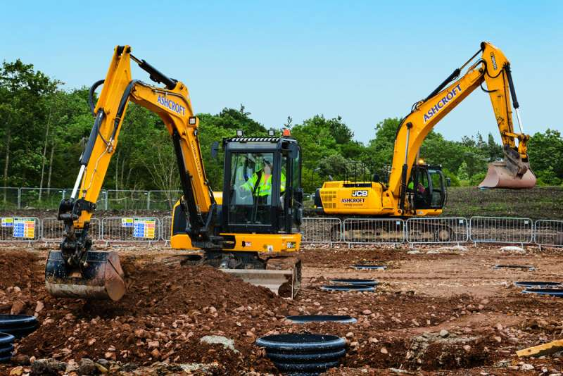 Cumbia, UK based Ashcroft Construction Demo and Plant ordered £1 million worth of JCB machines