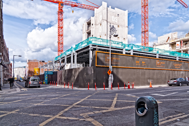 Irish building sites face more chaos as crane drivers vote to ramp up strikes