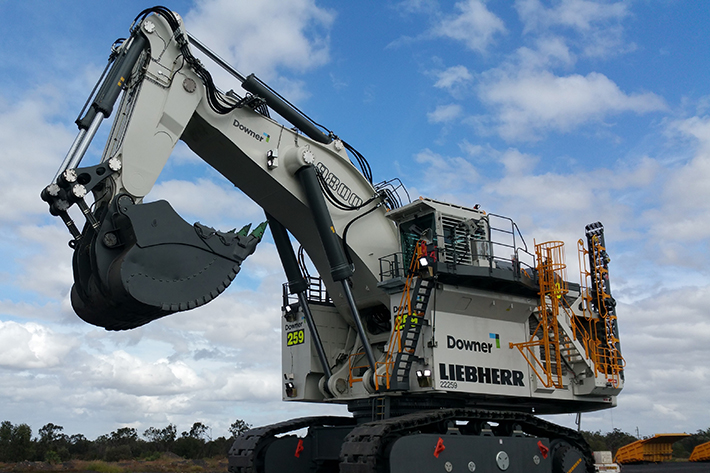 Australia's Downer Mining recently purchased a Liebherr R 9800 BH mining excavator