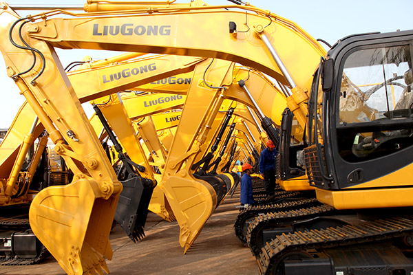 Chinese excavator manufacturers set to a 50% jump in sales