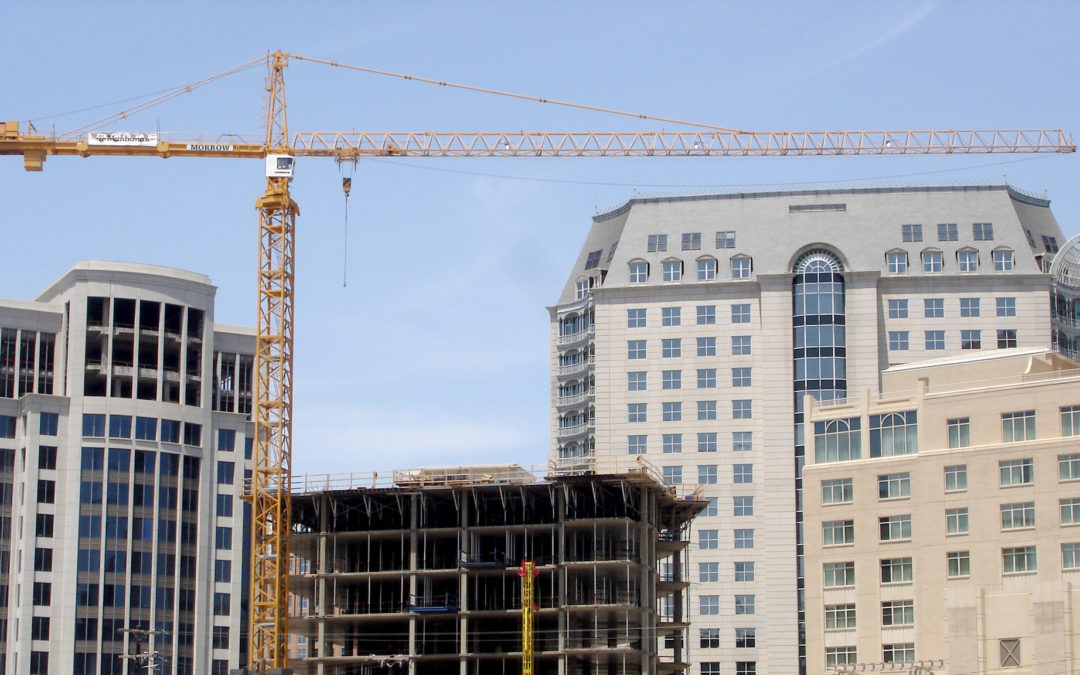 DFW still Tops Nation in Tower Cranes with an estimated 105 in the skyline