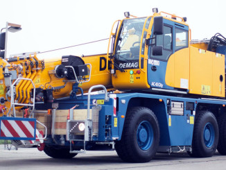 Demag AC 45 City-Al-Terrain-Crane