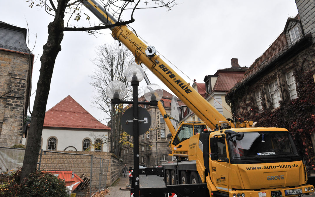 Germany's Auto-Klug has acquired its first Grove GMK4100L-1 with a K-100 synthetic rope